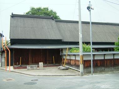 田原本陣屋跡地に建つ旧家