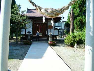 喜太郎稲荷神社(城址にある)