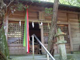 道陸神社拝殿
