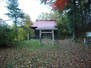 天童護国神社の建つ天童城曲輪