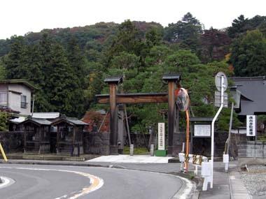 仏向寺正門