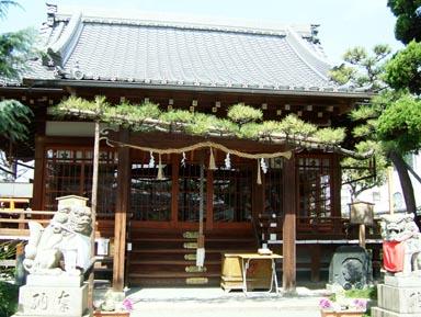桜井神社本殿