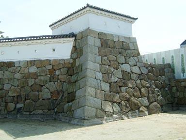 城址公園の石垣