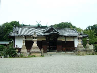 聖神社拝殿