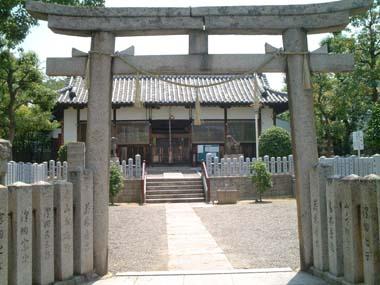 伯太神社鳥居