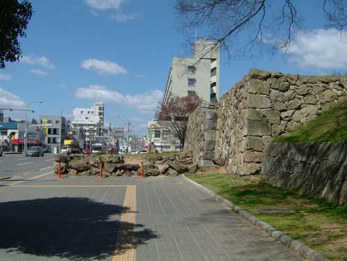 白鷺橋埋門跡石垣