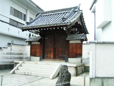 西方寺表門