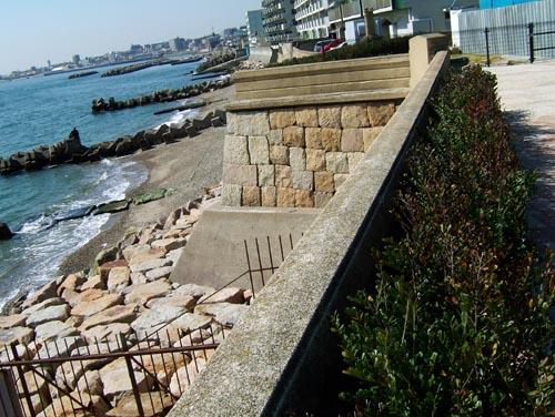 砲台石垣(上から)1