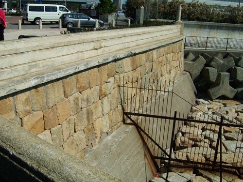 砲台石垣(上から)2