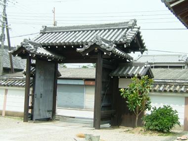 浄照寺移築門2