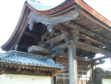 天竜寺勅旨門2