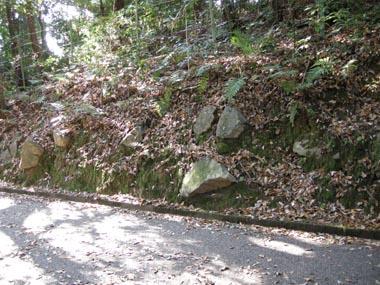 伏見城二の丸の石