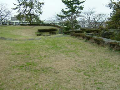 福井城天守台礎石