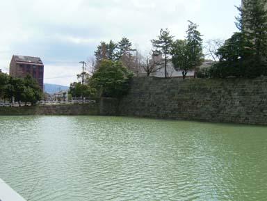 福井城不明門への土橋