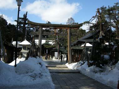 米沢城本丸の上杉神社