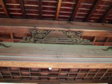 麻田陣屋移築玄関3(報恩寺庫裏玄関)
