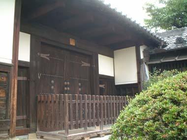 麻田陣屋移築門1(U氏邸門)