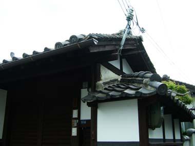 麻田陣屋移築門2(O氏邸門)