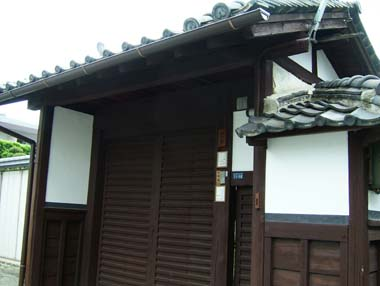 麻田陣屋移築門3(O氏邸門)