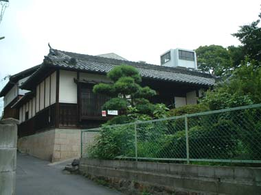 麻田陣屋移築門3(U氏邸門)