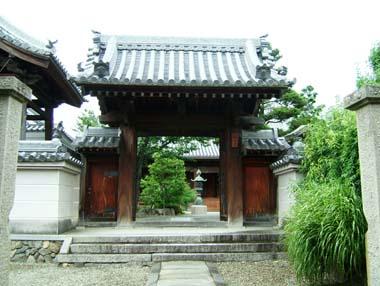 麻田陣屋移築門3(報恩寺門)