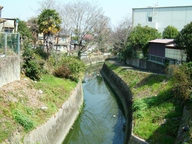 淀古城堀跡
