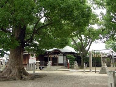華表神社拝殿