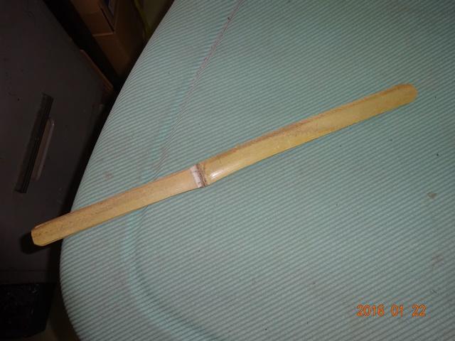 竹製両刃のペーパーナイフ