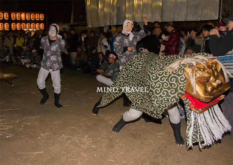 石津太神社 やっさいほっさい 獅子舞