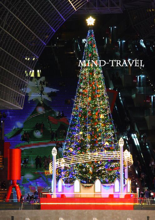 京都駅ビル クリスマスイルミネーション3