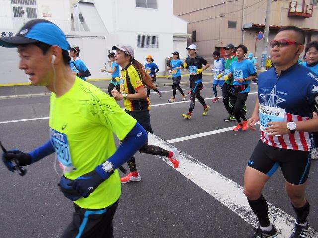 神戸マラソン2015を地元で応援しました♪来年は出場したいですね~(^^♪