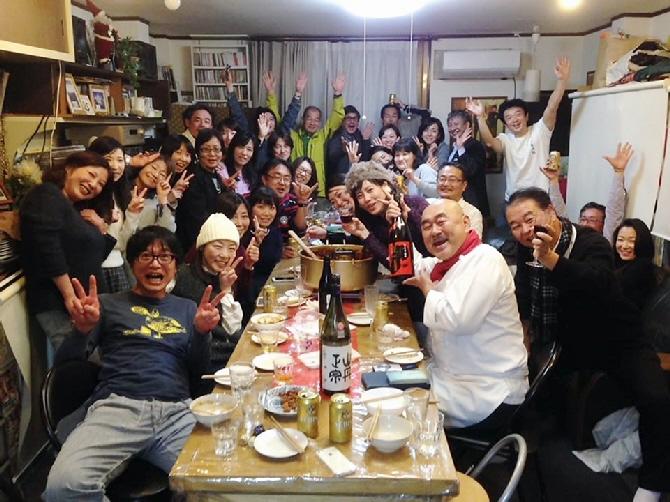 2015ピーボ亭大忘年会に参加☆百人参加で美味しいものいっぱい(^^♪(12月27日)