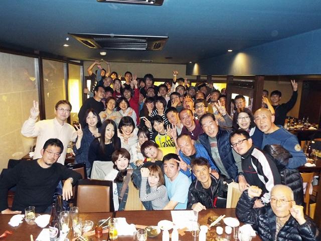 昨年末ですが、、2015コナミ新長田忘年会@居酒屋大に参加しました♪