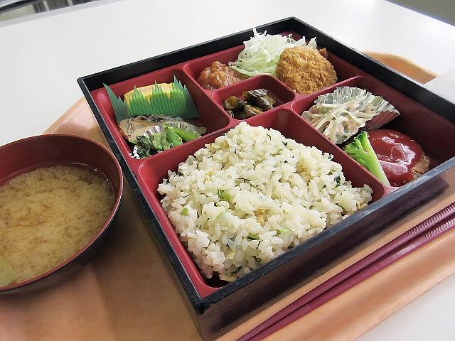 東京都庁食堂で有名な『都庁弁当』をいただきました(^^♪