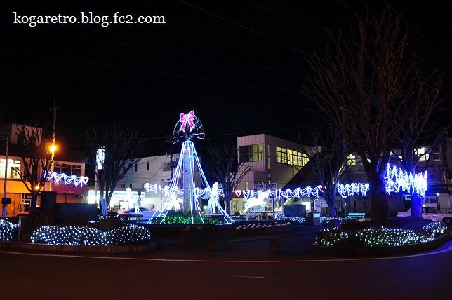 2015野木駅のイルミ4