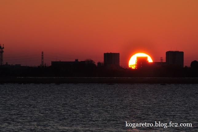 渡良瀬遊水地の初日の出2