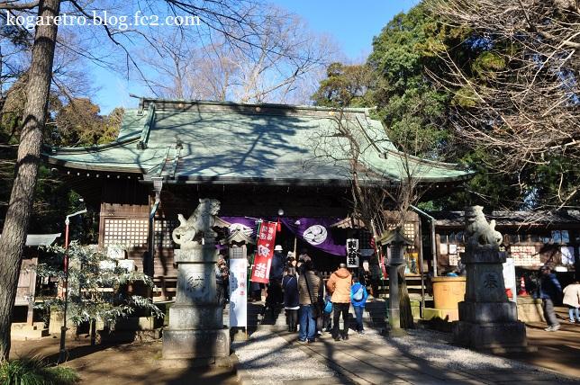 2016野木神社で初詣