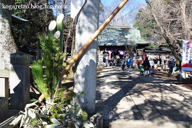 2016野木神社で初詣2