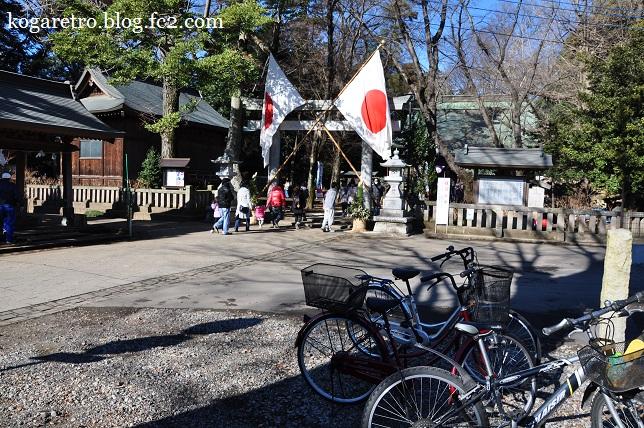 2016野木神社で初詣3