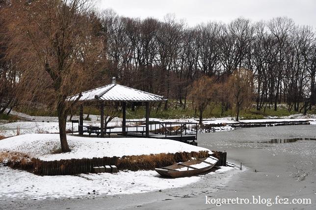 雪の古河総合公園4