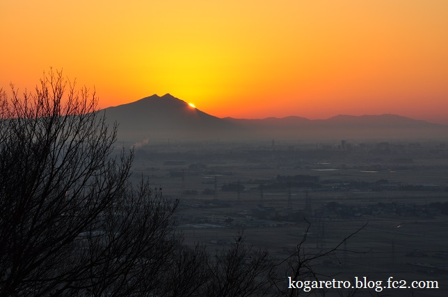 太平山の朝日3