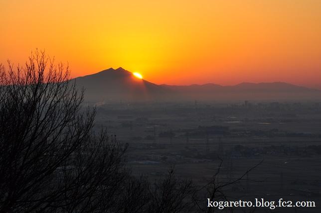 太平山の朝日4