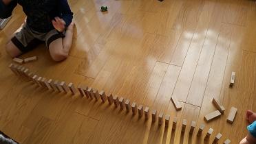 積み木遊び