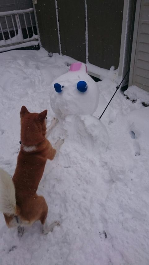 雪だるま破壊1