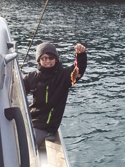 ボートの初釣り6