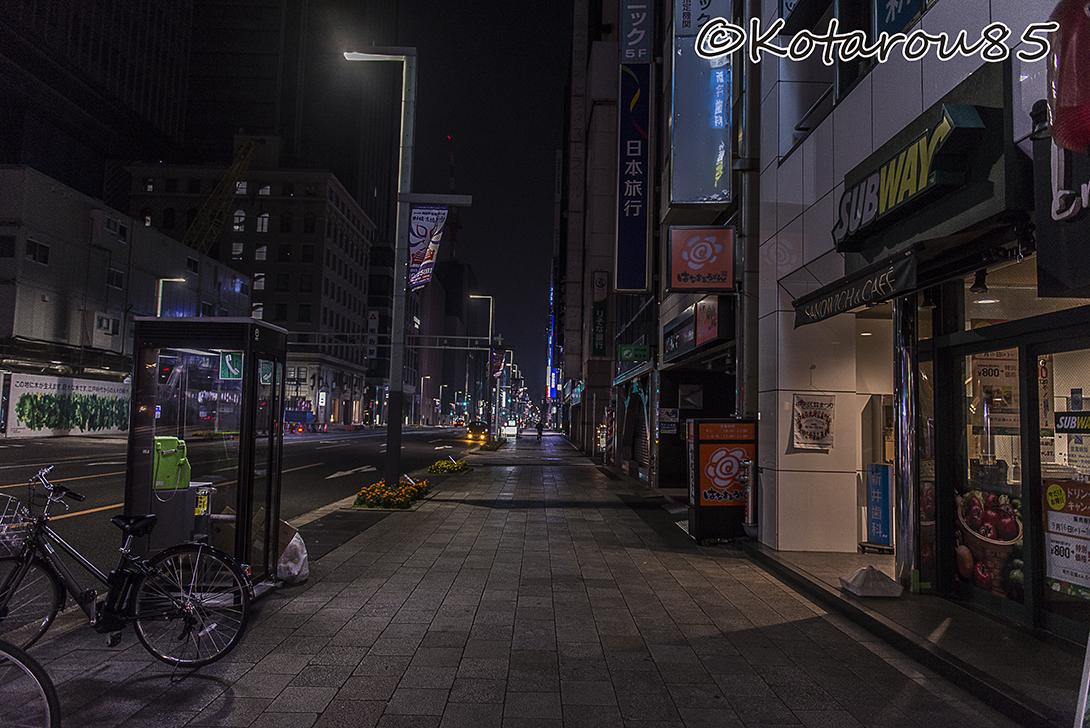 さらに静かな日本橋方面 20151025