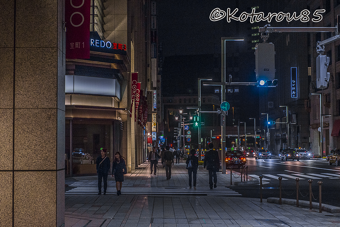 深夜の日本橋散歩 20151030