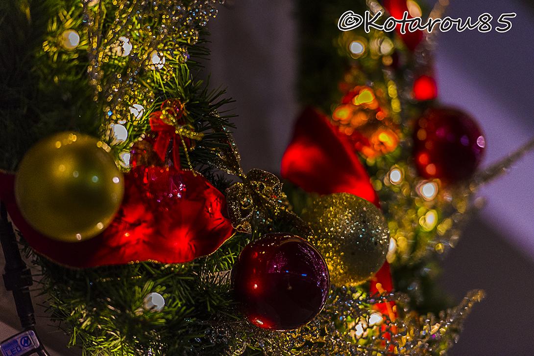 クリスマスムード演出 20151122