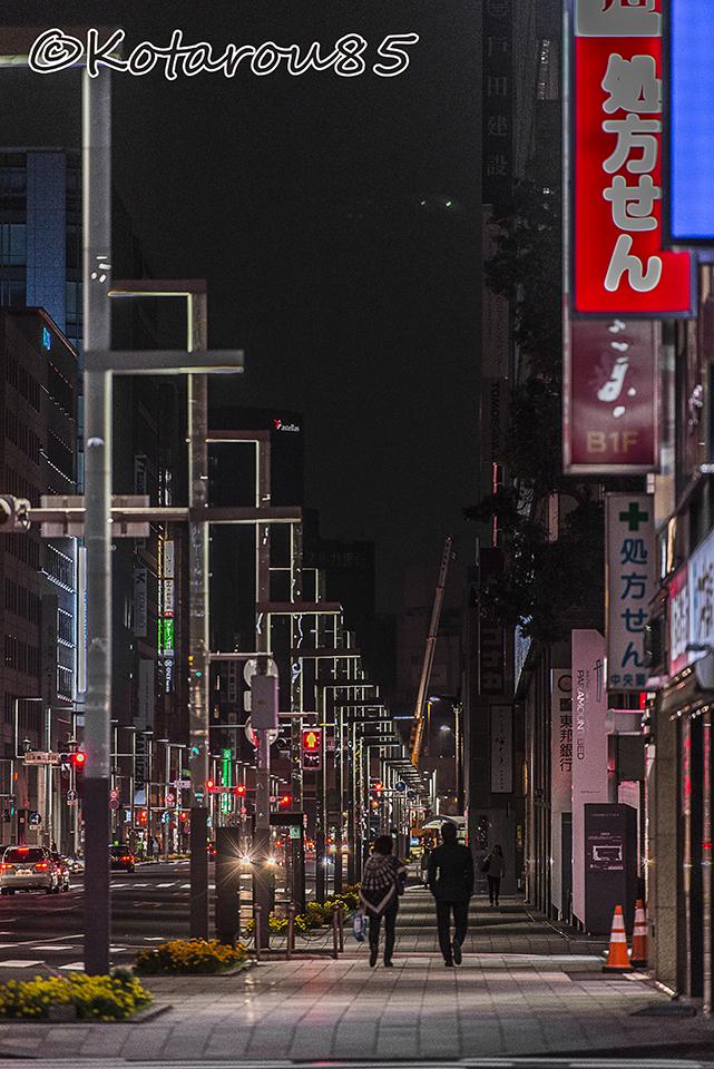 深夜の京橋へ 20151123