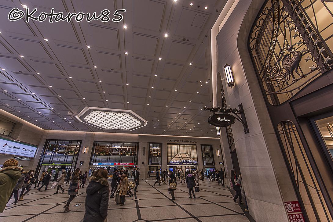 阪急百貨店前コンコース 20160121